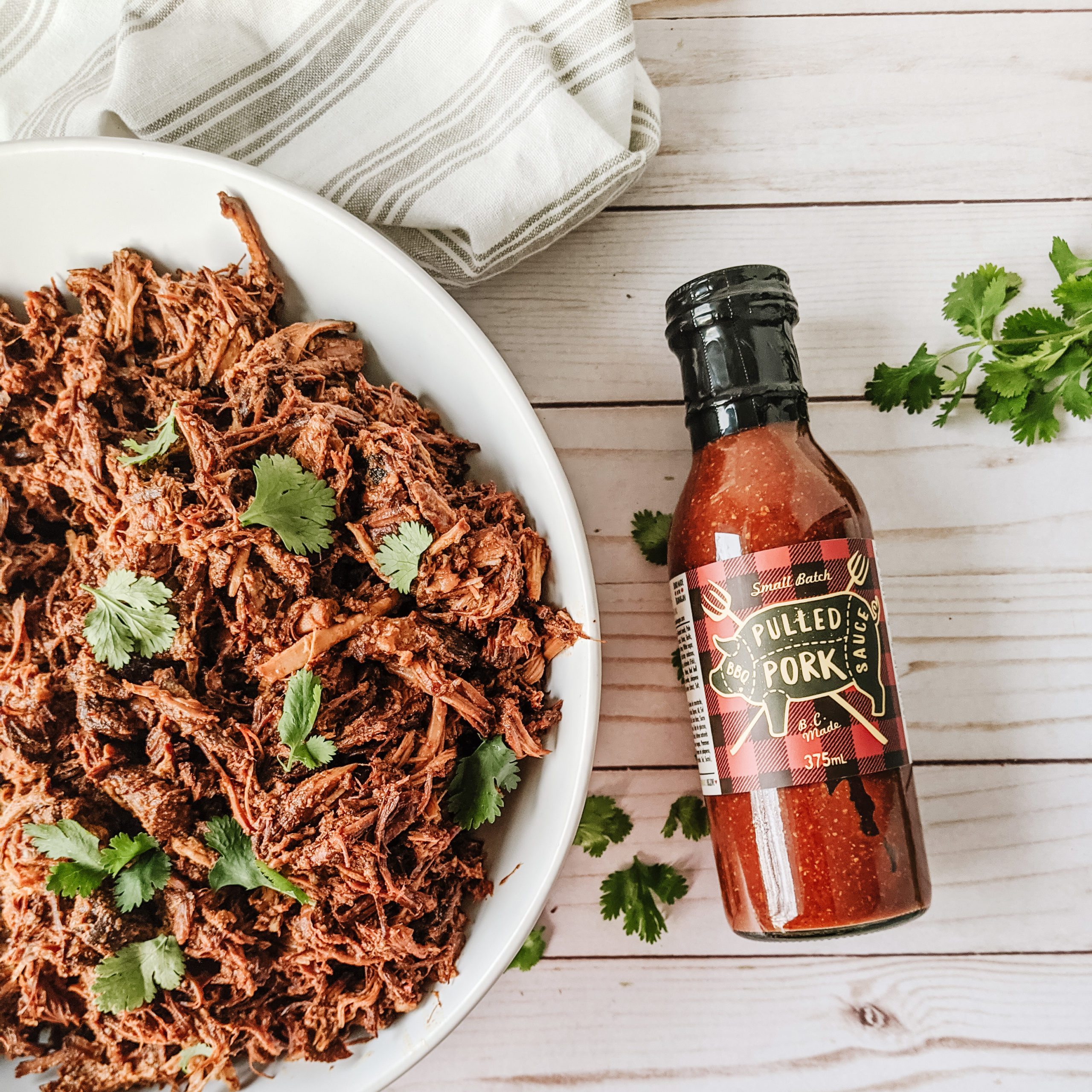 Pulled Pork Sauce for easy pulled pork sandwiches in your slow cooker